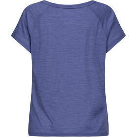 super.natural Jonser Tee Women coastal fjord melange